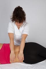 massage lombaire
