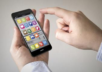 OS touchscreen smartphone
