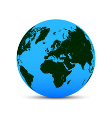 3d world icon