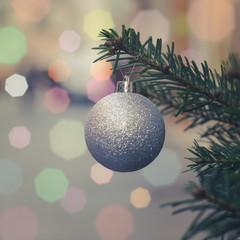 Retro Christmas Tree Decoration