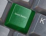 Keyboard for good salary poster