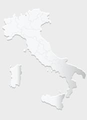 mappa italia rilievo
