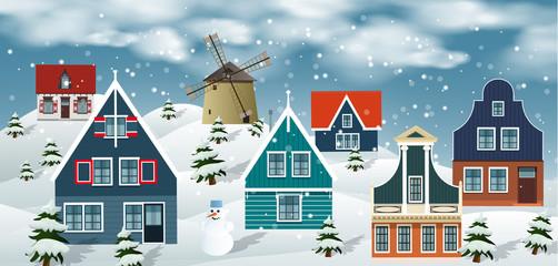 Winter landscape (Dutch countryside)