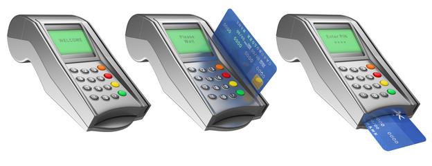 3D Bank terminal