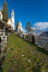 Lago di Como e Cappella