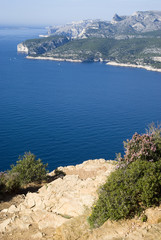 Southern France. View of the Calanques National Park
