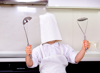 Oops - my chefs hat is too big