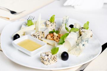 Gourmet Cheese Platter Appetizer