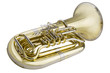 Tuba auf weissem Hintergrund - 74022110