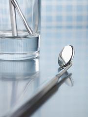 Zahnarztbesteck, close-up