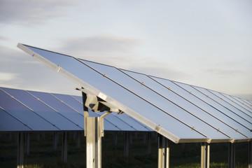 Solarzellen auf Solaranlage
