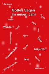 Jahreswechsel-Karte