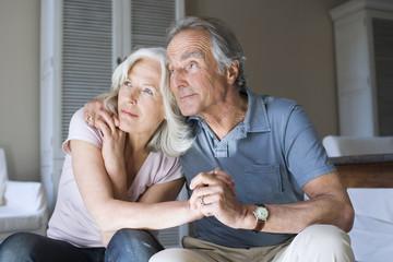 Senioren Paar, Portrait