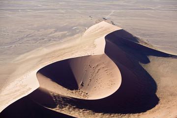 Afrika, Namibia, Namib-Wüste, Luftbild
