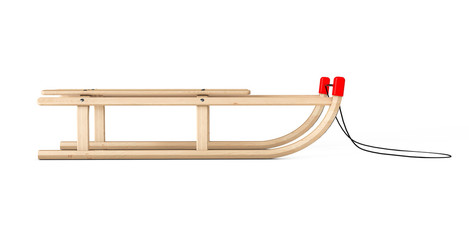 Classic Wooden Sled