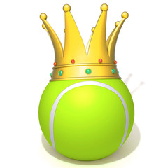 Tennis ball king