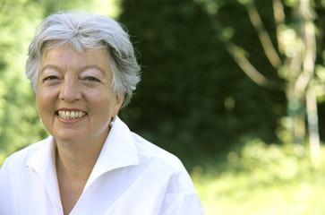 Frau, Seniorin, close-up, Portrait