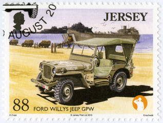 JERSEY - 2013: shows Ford Willys Jeep GPW, Military Vehicles