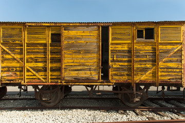 Old train wagon