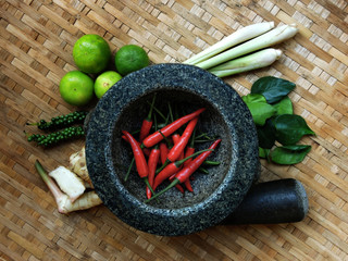 Thai Food : Seasoning ingredients of Tom-Yum - 03