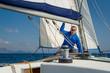 Sailing boat skipper
