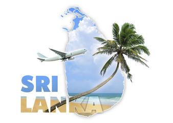 Sri Lanka travel concept