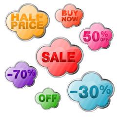 Set Sale Tags