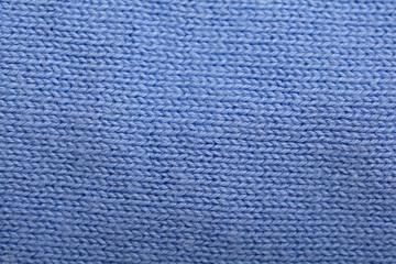 texture soft blue wool sweater
