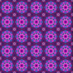 Pink ethnic pattern.