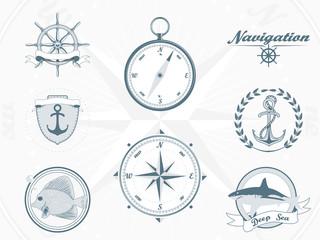 Nautica and sea elements