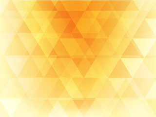 abstract background yellow and orange triangle style