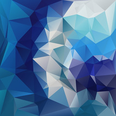vector polygonal background triangular blue colors - spiral