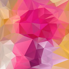 vector polygonal background triangular design in magenta colors