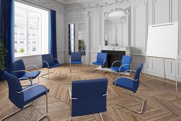 Stuhlkreis in Praxis für Psychotherapie