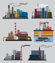 Industrial building factory