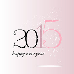 greeting card 2015 pink