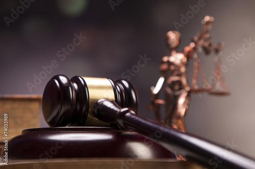 Fototapeta Mallet of justice!