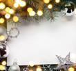 art christmas holiday background; tree light