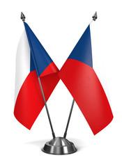 Czech Republic - Miniature Flags.