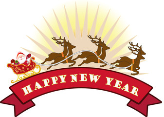 Holiday greeting - Happy New Year