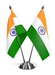 India - Miniature Flags.