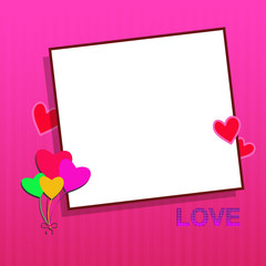 Valentine Message - Illustration