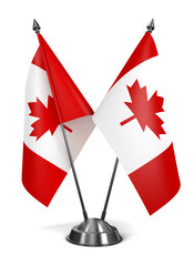 Canada - Miniature Flags.