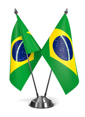 Brazil - Miniature Flags.