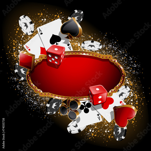 Casino background - 74035738