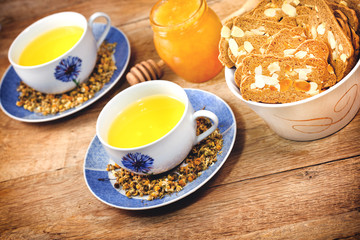 Chamomile - camomile tea