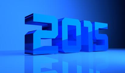 3D 2015 Blue