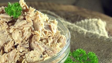 Tuna fish as seamless loopable 4K UHD close-up footage