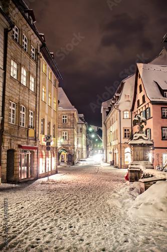 Zdjęcia na płótnie, fototapety, obrazy : Bamberg at night