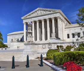 US Supreme Court Capitol Hill Daytime Washington DC